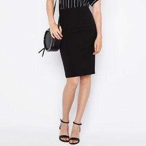 Express High Waisted Pencil Skirt in Black - Sz 14